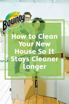 We've all experienced it—you tidy your space just for it to get dirty and cluttered a few days later. These household tips for How to Clean Your New House So It Stays Cleaner Longer can help with that!