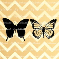 Butterfly SVG, Butterflies silhouette Svg, Monarch Butterfly Svg, Cricut, Dxf…