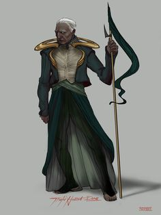 """Thufir Hawat by Kim Parker With """"Dune"""" the remake coming out next year this might be a good opportunity to start the """"Prelude to Dune"""" series books by Kevin J. Character Concept, Character Art, Character Design, Concept Art, Dune Book, Dune Series, Dune Frank Herbert, Dune Art, Dune"""