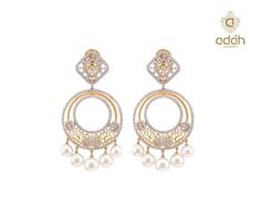 Moti #pearls and #gold always go together perfectly!  Adah gets you the best blend of both to create this pair of gorgeous earrings!
