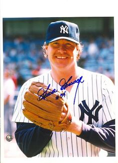 """Autographed Rich """"""""Goose"""""""" Gossage New York Yankees 8x10 Photo"""