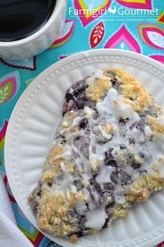 Farmgirl Gourmet: Delicious Recipes for the Home Cook.: Huckleberry Scones - For SRC