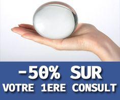 Vous souhaitez vous offrir une voyance serieuse et de qualite a un prix tout doux? venez consulter a - 50 % pour votre premiere voyance avec le code promo 727M sur le site www.pur-medium.com