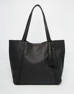 Image 1 ofNew Look Plaited Shopper Bag