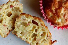 Frokostmuffins med spekeskinke og mozarella (recipe in Norwegian)