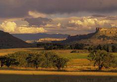 Le Lesotho, Far-West africain