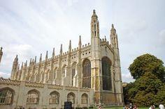 King's College Chapel, Cambridge, England.