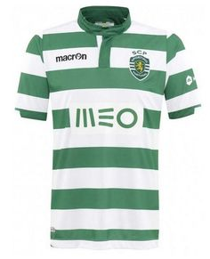 71bad625d97 Portuguese giants Sporting Lisbon (officially Sporting Clube de Portugal)  are this season - - wearing an understated take on their famous green and  white ...