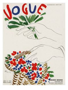 Vogue Cover - June 1940  by Eduardo Garcia Benito