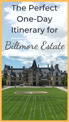 How to Have a Perfect Day (or Half Day) at Biltmore Estate Ashville North Carolina, North Carolina Vacations, Ashville Nc, Asheville Food, Biltmore Estate Asheville Nc, Visit Asheville, Biltmore Estate Christmas, Places To Travel