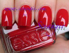 Essie Red Nouveau. Photo from www.scrangie.com