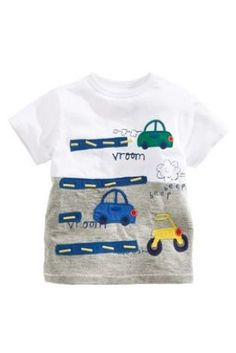 BOYS MOTHERCARE 3 PACK SHORT SLEEVED T-SHIRTS TOP SUPER HERO DESIGNS 12-18 M NEW