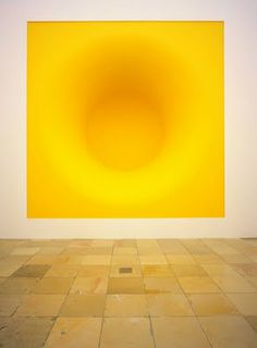 Yellow by Anish Kapoor