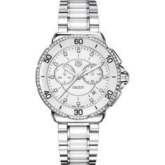 Reloj tag heuer formula 1 crono cero / cerámica y diamantes cah1213.ba0863