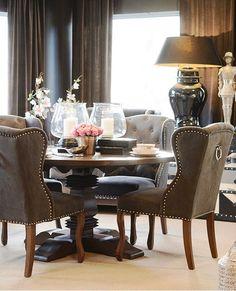 savannahlondon: Perfect chairs +Royal blue or dark purple (chair color) or a neutral or blush?