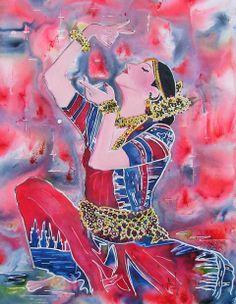 India Buddha Kunst, Buddha Art, Dance India Dance, Indian Art Paintings, Indian Bollywood, Figurative Art, Folk Art, Bing Images, Quotes