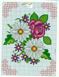 Beading Patterns, Embroidery Patterns, Crochet Patterns, Cross Stitch Designs, Cross Stitch Patterns, Cross Stitching, Cross Stitch Embroidery, Crochet Borders, Crochet Cross
