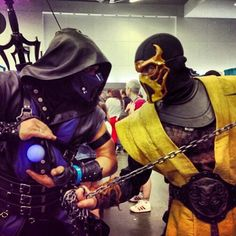 Mortal Kombat Legacy Sub Zero Costume #Cosplay Mortal Kombat...
