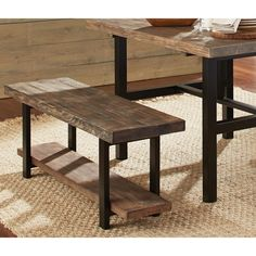 The Pomona Bench is versatile and perfect for your entryway, dining, or living room. Sit on the bench to put on or remove your shoes. Featuring exquisite workmanship of solid reclaimed wood tops with                                                                                                                                                                                  More