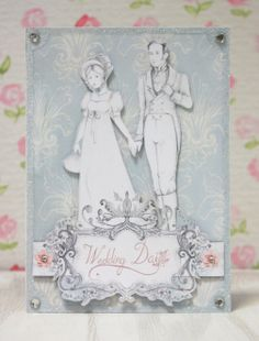 Regency Love Digikit - digital crafting card made by Becks Miller for www.daisytrail.com