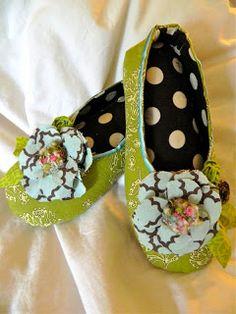 Women's Kimono Shoes