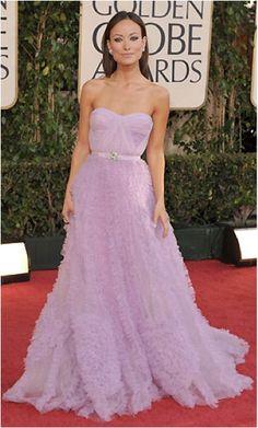 Olivia Wilde in Reem Acra...one of my favorite dresses ever