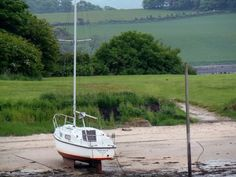 Small harbour in Dalgety Bay, Fife,Scotland