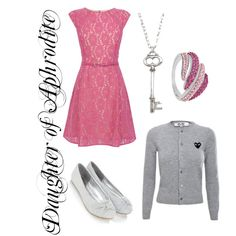 """""""Daughter of Aphrodite: Cabin 10"""" by xylophobian on Polyvore"""