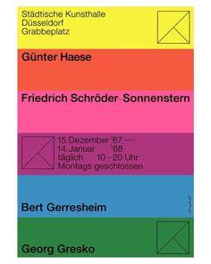 Walter Breker – 1967 #walterbreker #design #poster #typography #aocho (på/i Blekingegatan)