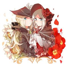 Bloodborne - Maria & The Doll by http://maoskun.tumblr.com/