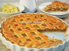 Hungarian Recipes, Sweet Cakes, Winter Food, No Bake Cake, Sweet Tooth, Sweet Treats, Bakery, Food And Drink, Cooking Recipes