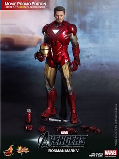 Hot Toys MMS 171 The Avengers – Iron Man Mark VI – Hot Toys Complete Checklist