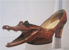 For those of you who are interested in alligator shoes...  lol