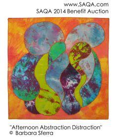 Art quilt by Barbara Sferra #artquilts