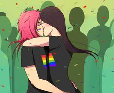(Cait x Vi) is by far my favorite League of Legends ship! Lesbian Love Quotes, Lesbian Art, Lgbt Love, Lesbian Pride, Pride Day, Lol League Of Legends, Animal Projects, Comic Styles, Faith In Humanity