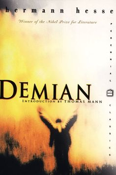 Demian - Herman Hesse  --> absolutely incredible book. Tony's favorite book. it completely opened my mind to so many different things.