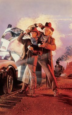 Back to the Future (3) by Drew Struzan