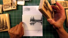 Stampscapes 101: Video 1.  Seamless Scenes (+playlist).How to build beautiful scenes with stamps.