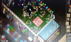 Ultima Online, Paradise Found, Product Launch, Quilts, Deco, Quilt Sets, Decor, Deko, Log Cabin Quilts