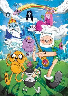 Adventure Time - Fan-Art Art Print