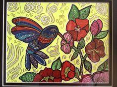 I need Hummingbird Original acrylic painting 8x10 by giftsofcreation, $75.00 CLICK IT!!
