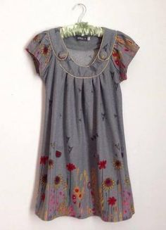 Szara sukienka Apricot idealna na jesień Shirt Dress, T Shirt, Summer Dresses, Fashion, Supreme T Shirt, Moda, Shirtdress, Tee Shirt, Summer Sundresses