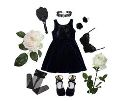"""""""Unbenannt #19"""" by togetic ❤ liked on Polyvore featuring American Apparel, ASOS, Untold, Anna Sui and Laura Cole"""