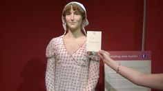 Le Commari with Jane Austen at the Jane Austen Centre in Bath