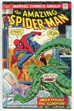 Amazing Spider-Man 146 Marvel 1975 FN Scorpion Jackal Gwen Stacy Clone Saga