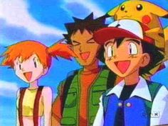 POKEMON (the good one w/ ash, brock and misty)