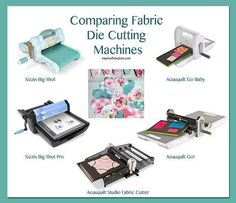 Which is the best fabric cutting machine? AccuQuilt, Big Shot? Brother ScanNCut? Silhouette? My research.#PaperCraft #Quilt