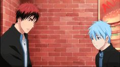 Kuroko no Basket gif... I love that Kuroko just watches it happen.