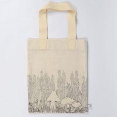 Severina Kids Mushrooms Tote Bag Illustrated