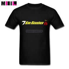 Custom Made Kimi Raikkonen 7 Logo T-shirts 3XL   Man  Short Sleeve T-shirt #Affiliate